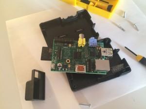 Mon Raspberry Pi modele B rev 2